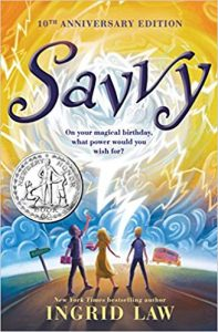 Savvy book cover